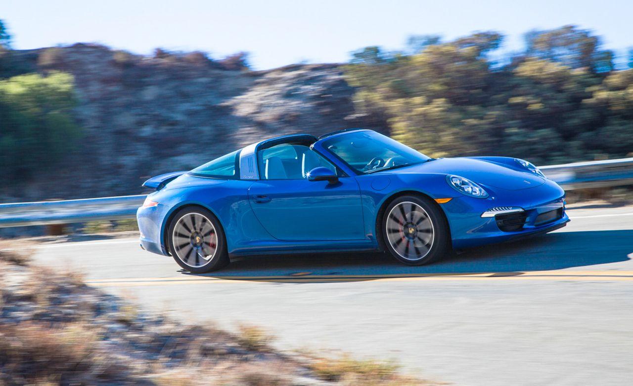 2014 Porsche 911 Targa 4S PDK Automatic