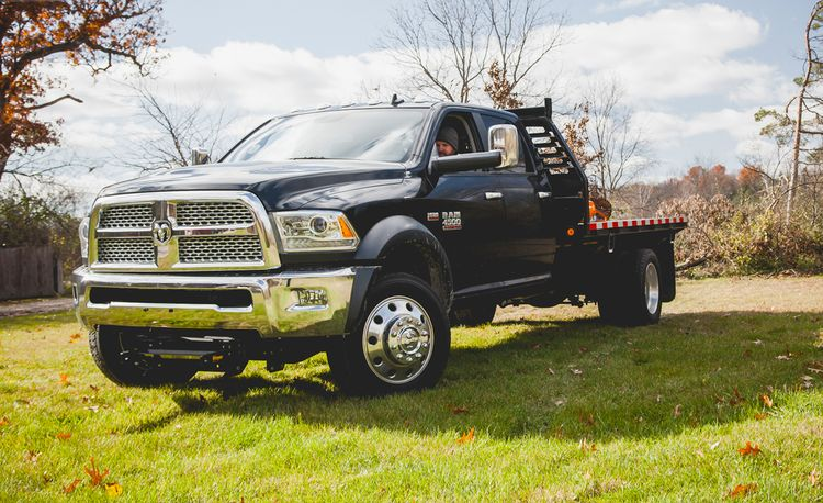 2014 Ram 4500 HD Chassis Cab 4x4 Crew Cab