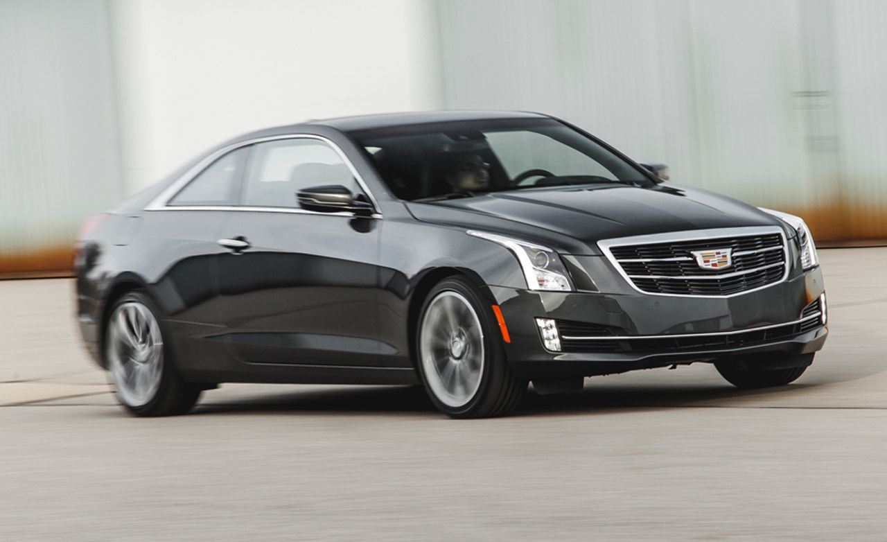 2015 cadillac ats coupe 2 0t manual test