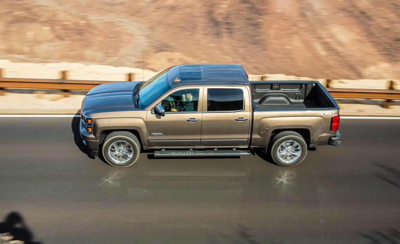 2015 Chevrolet Silverado 1500 6.2L 4x4 8 Speed Automatic