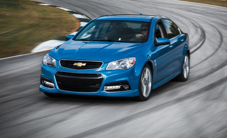 2015 Chevrolet SS Manual
