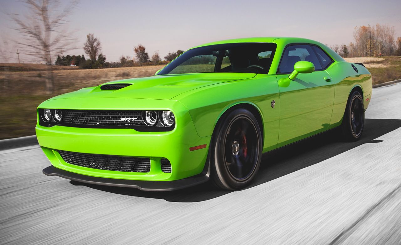 Challenger Srt Hellcat >> 2015 Dodge Challenger Srt Hellcat Manual Test Review Car And Driver