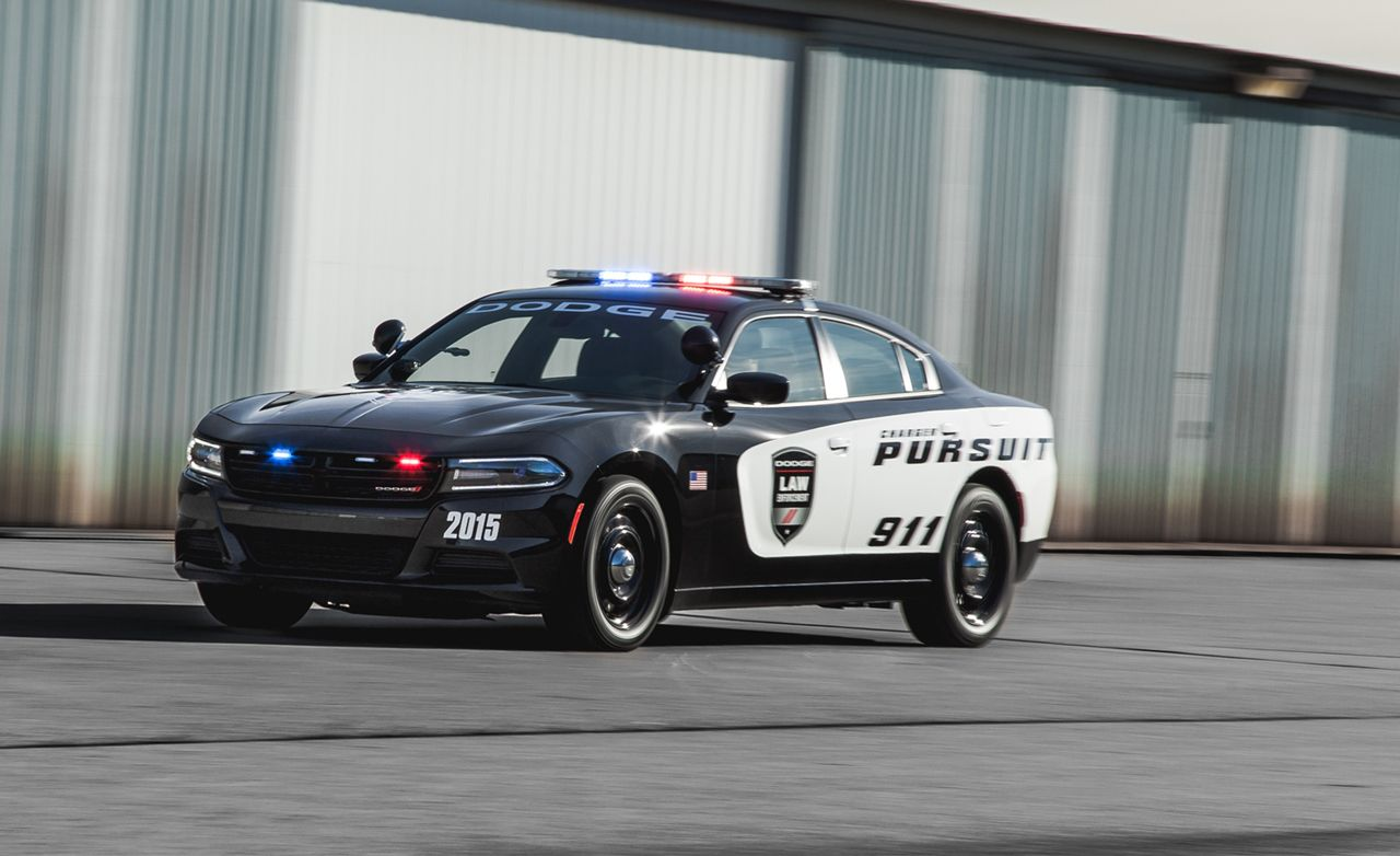 2015 Dodge Charger Pursuit V-8 AWD