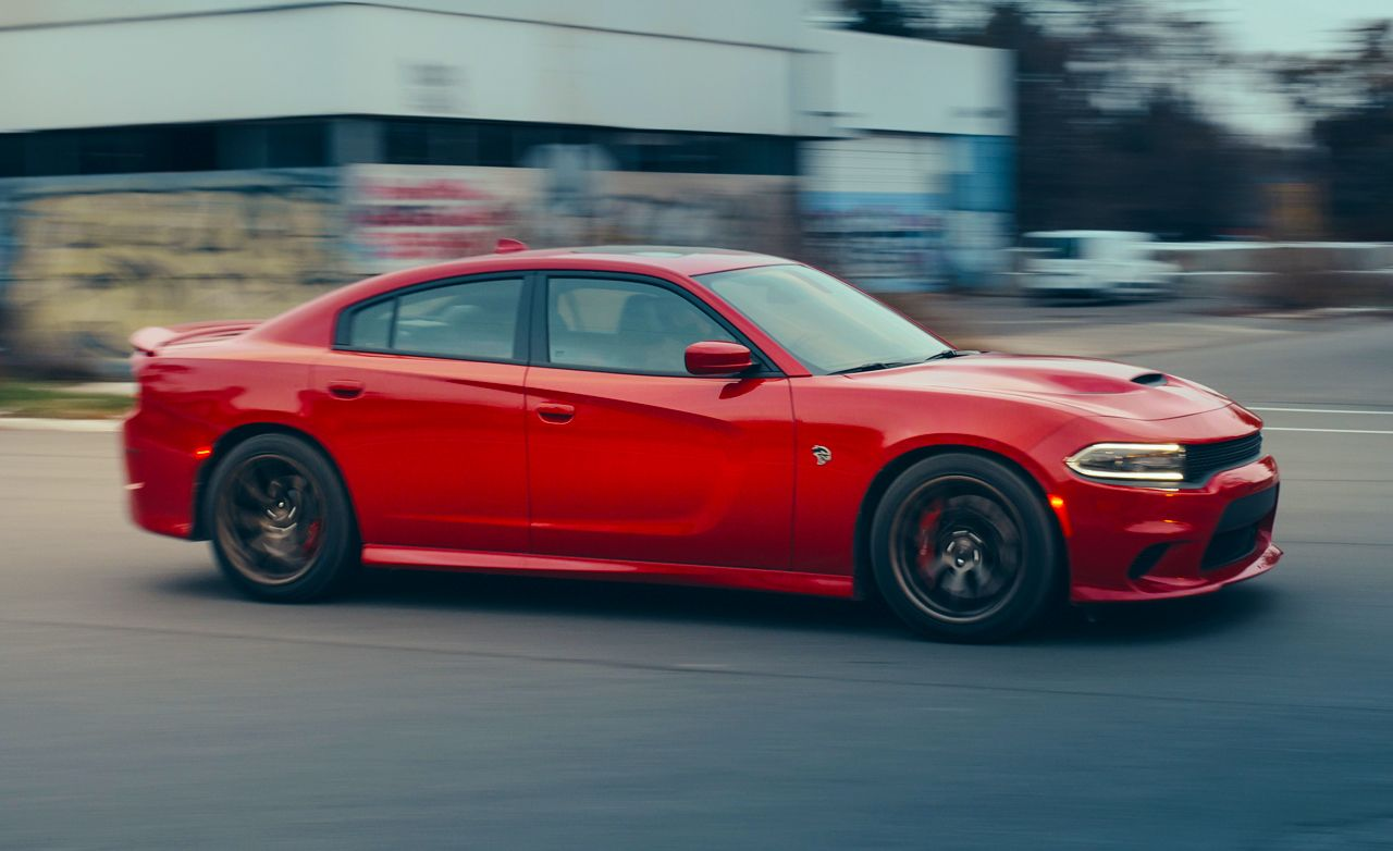 2015 Dodge Charger Srt Hellcat Test Review Car And Driver
