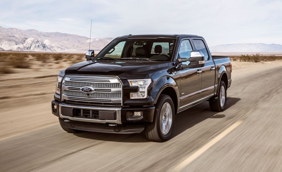 2015 Ford F-150 3.5L EcoBoost 4x4 SuperCrew