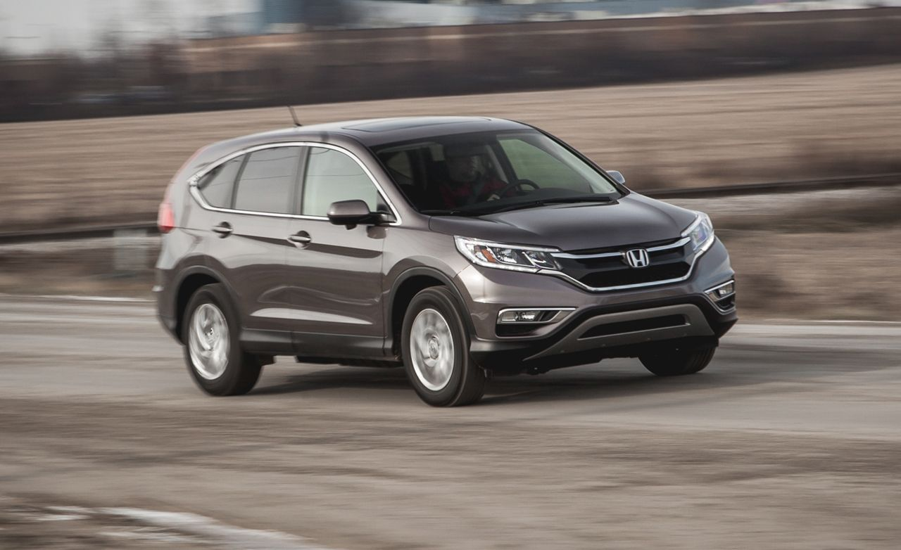 2015 Honda CR-V EX FWD Test | Review | Car and Driver