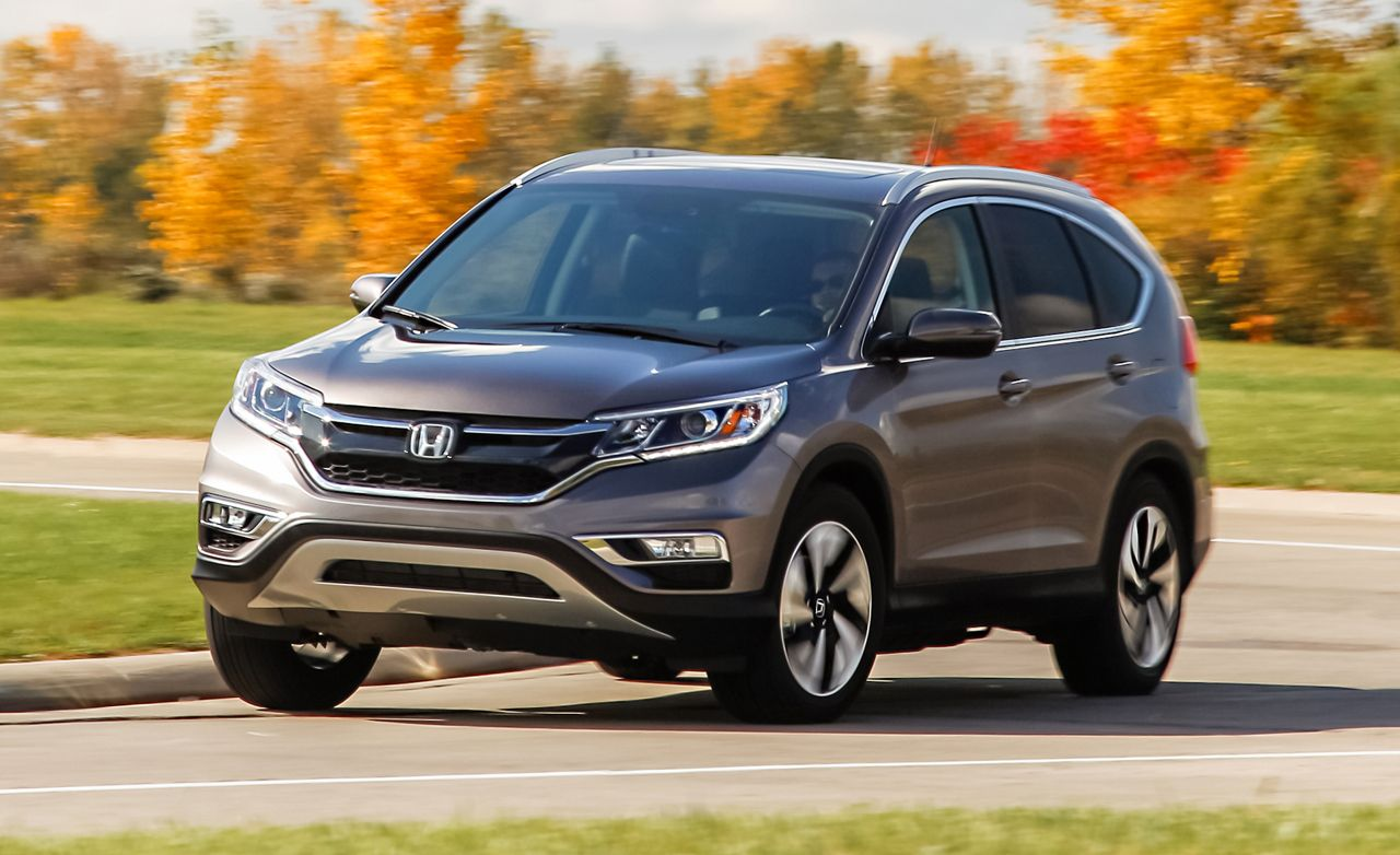 2015 Honda CR V Touring AWD