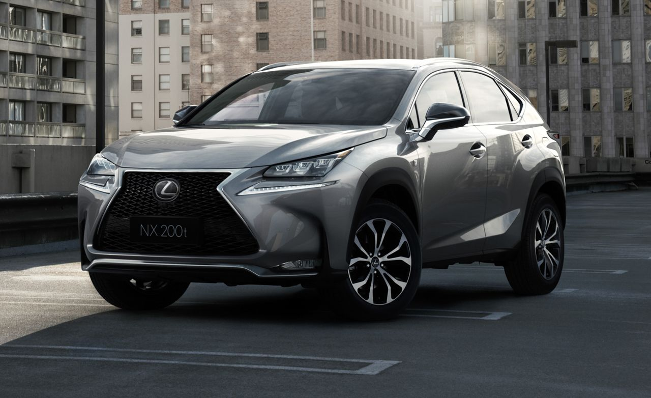 Lexus Nx 200T F Sport >> 2015 Lexus Nx200t F Sport Awd Tested Review Car And Driver