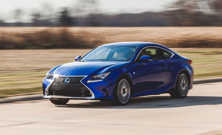2015 lexus rc350 f sport instrumented test review car and driver. Black Bedroom Furniture Sets. Home Design Ideas