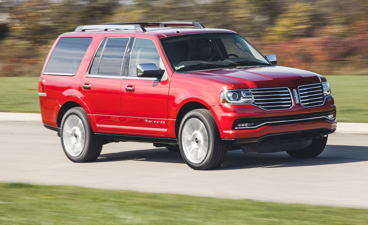 2015 Lincoln Navigator Test Review Car And Driver