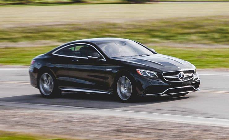 2015 Mercedes-Benz S63 AMG 4MATIC Coupe