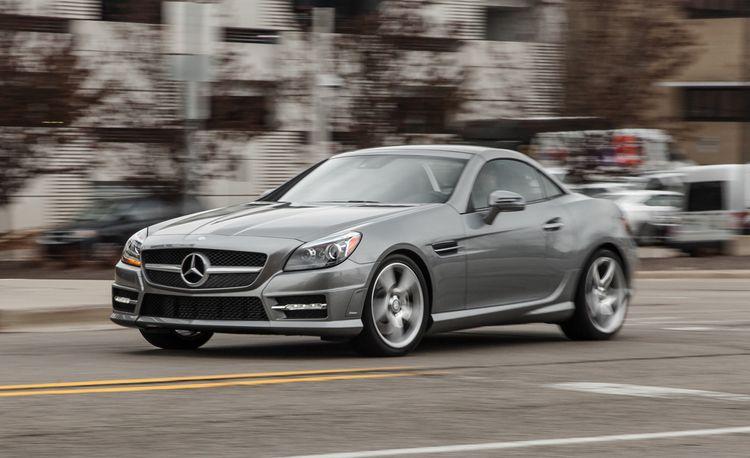 2015 Mercedes-Benz SLK250 Manual