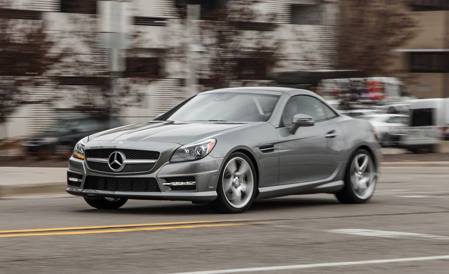 2015 mercedes benz slk250 roadster manual test review
