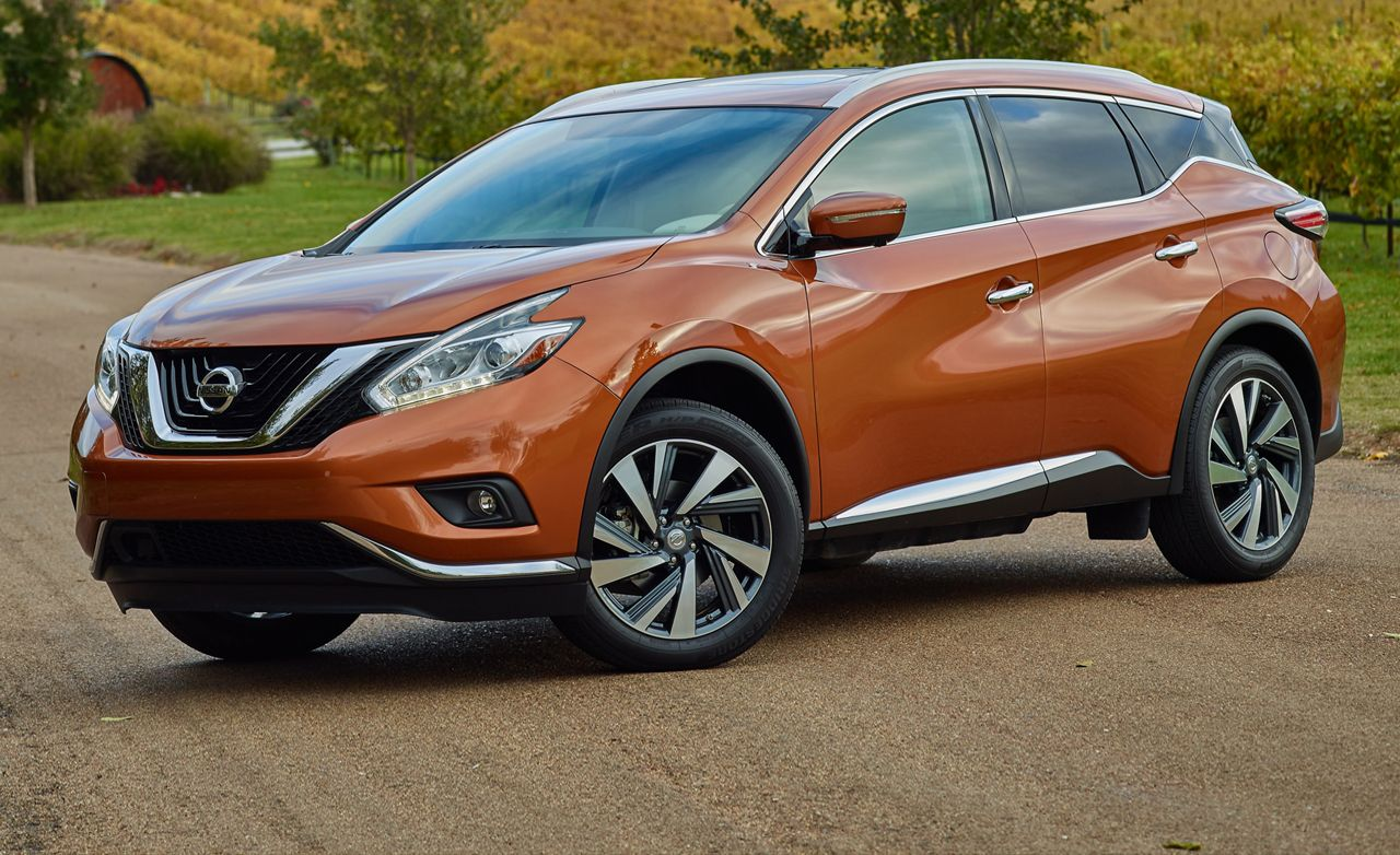 Nissan murano reviews nissan murano price photos and specs 2015 nissan murano vanachro Image collections