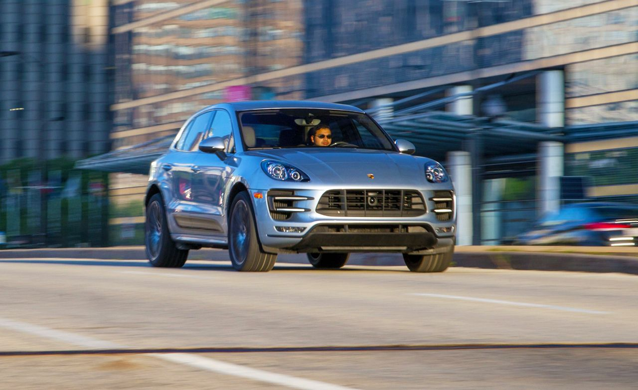 2015 porsche macan turbo test – review – car and driver