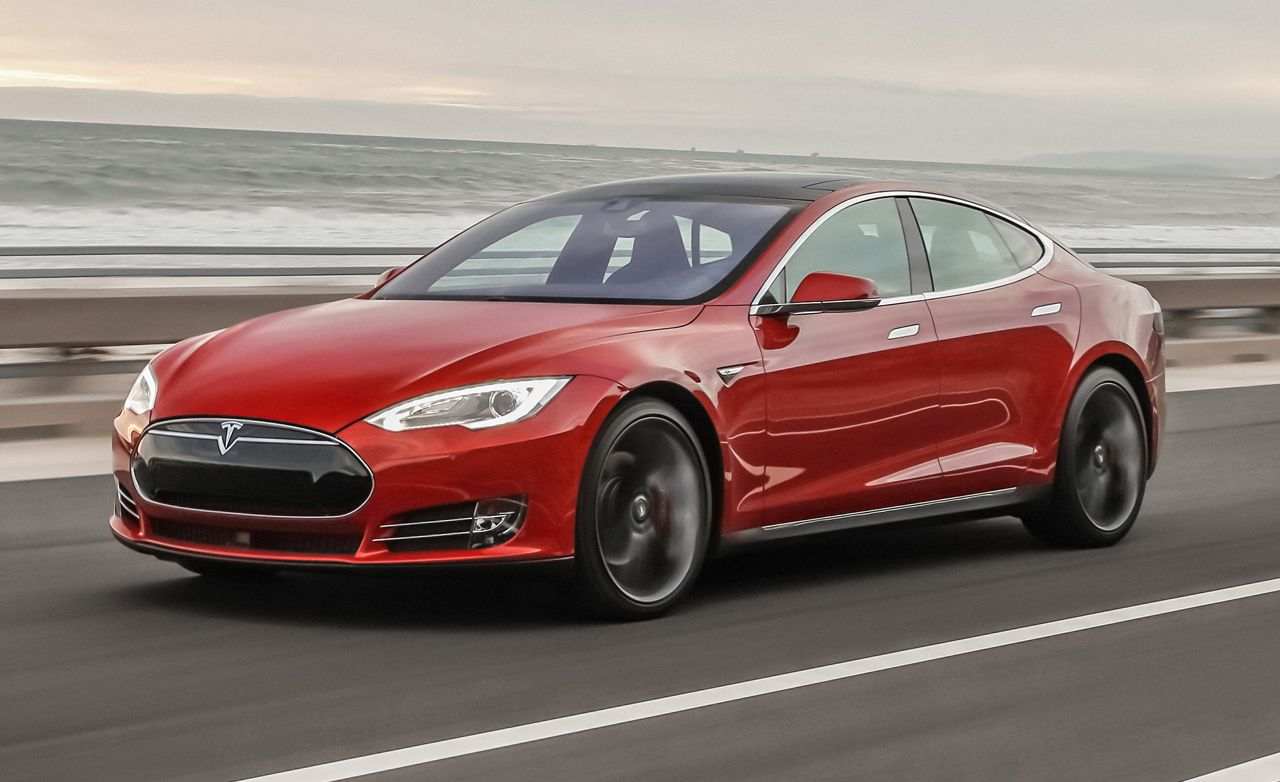 2015 Tesla Model S P85D First Drive  Review  Car and Driver