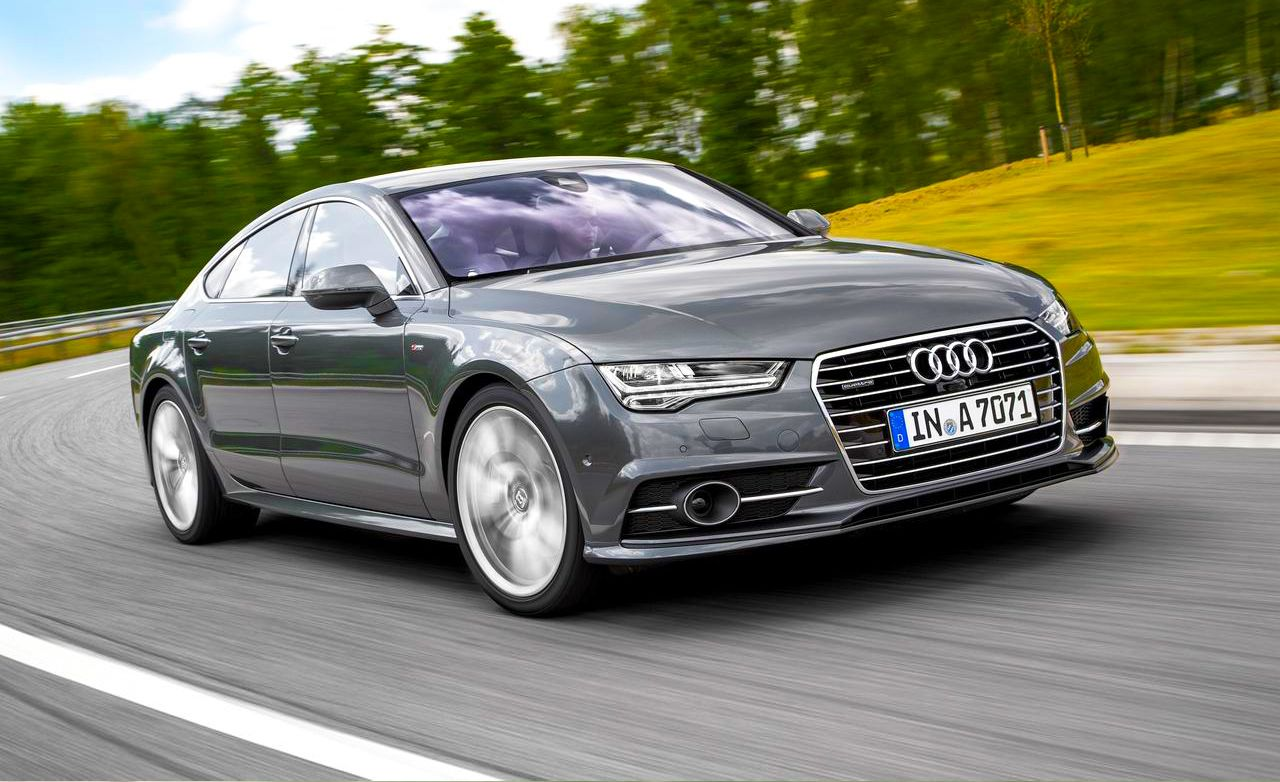 2016 Audi A7 Sportback First Drive Review Car And Driver