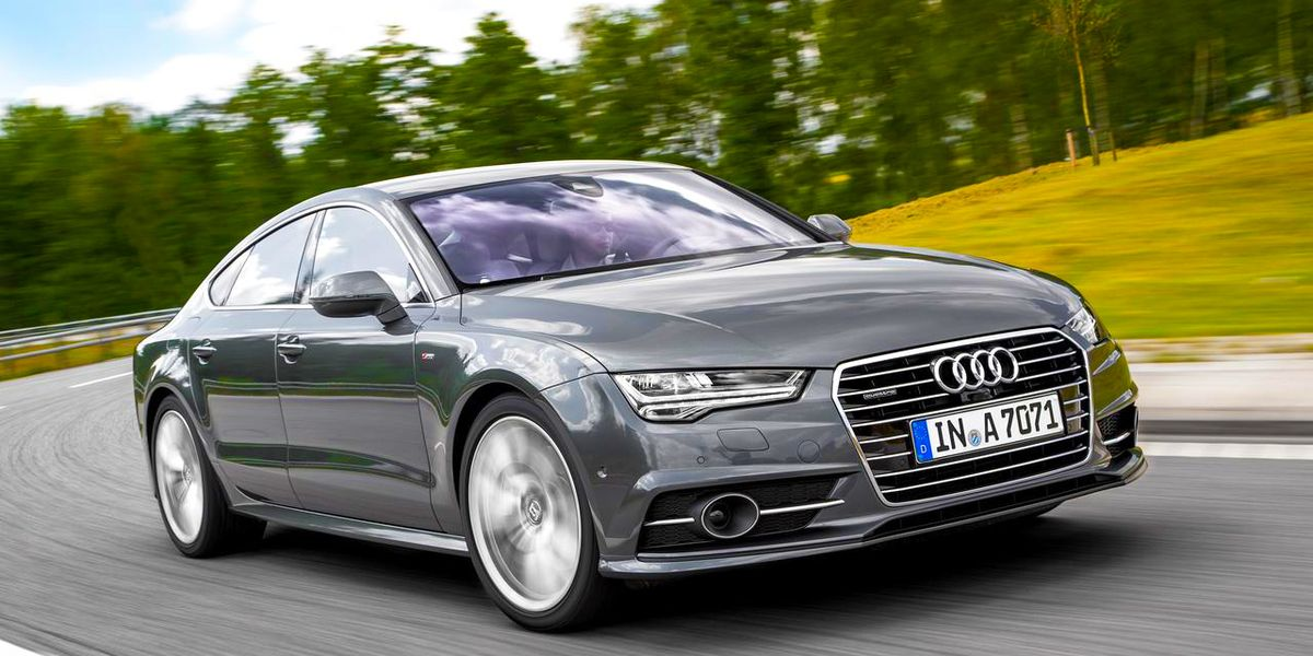 2016 audi a7 sportback first drive review car and driver. Black Bedroom Furniture Sets. Home Design Ideas