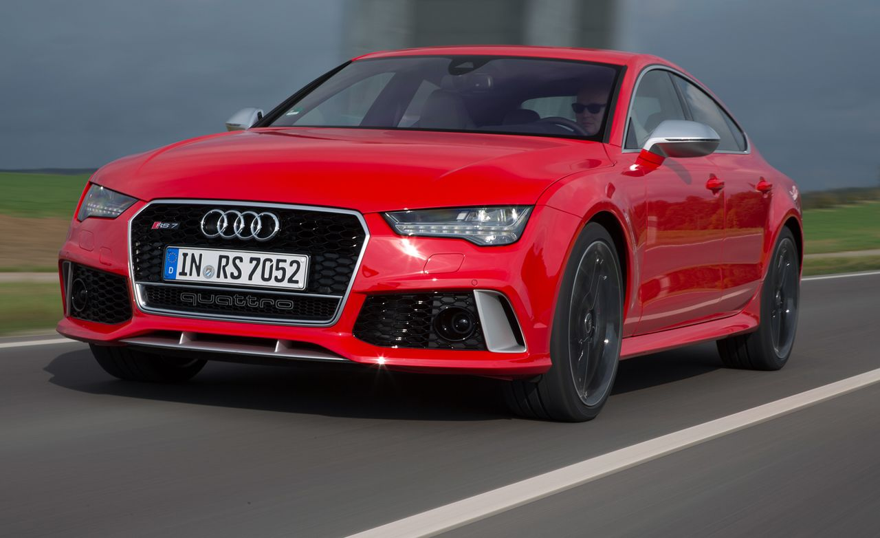 2016 Audi Rs7 First Drive Review Car And Driver