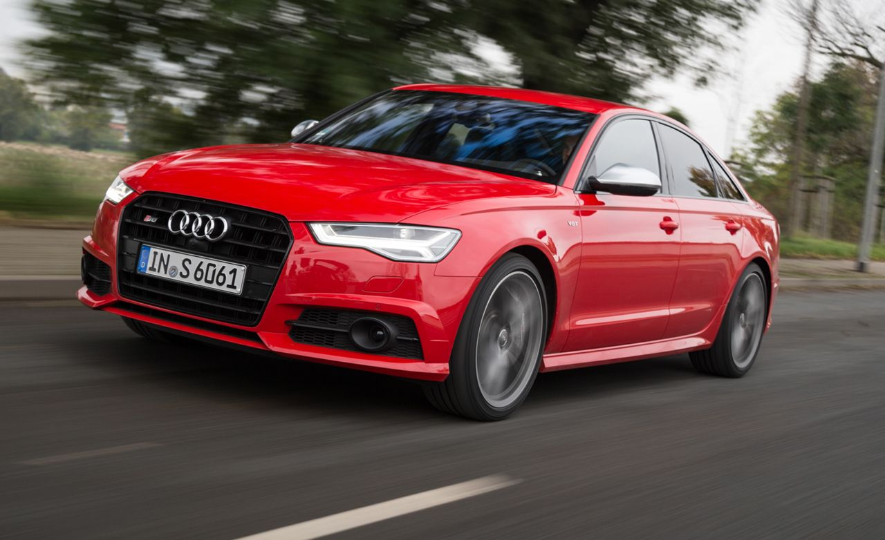 Audi S First Drive Review Car And Driver - Audi is6