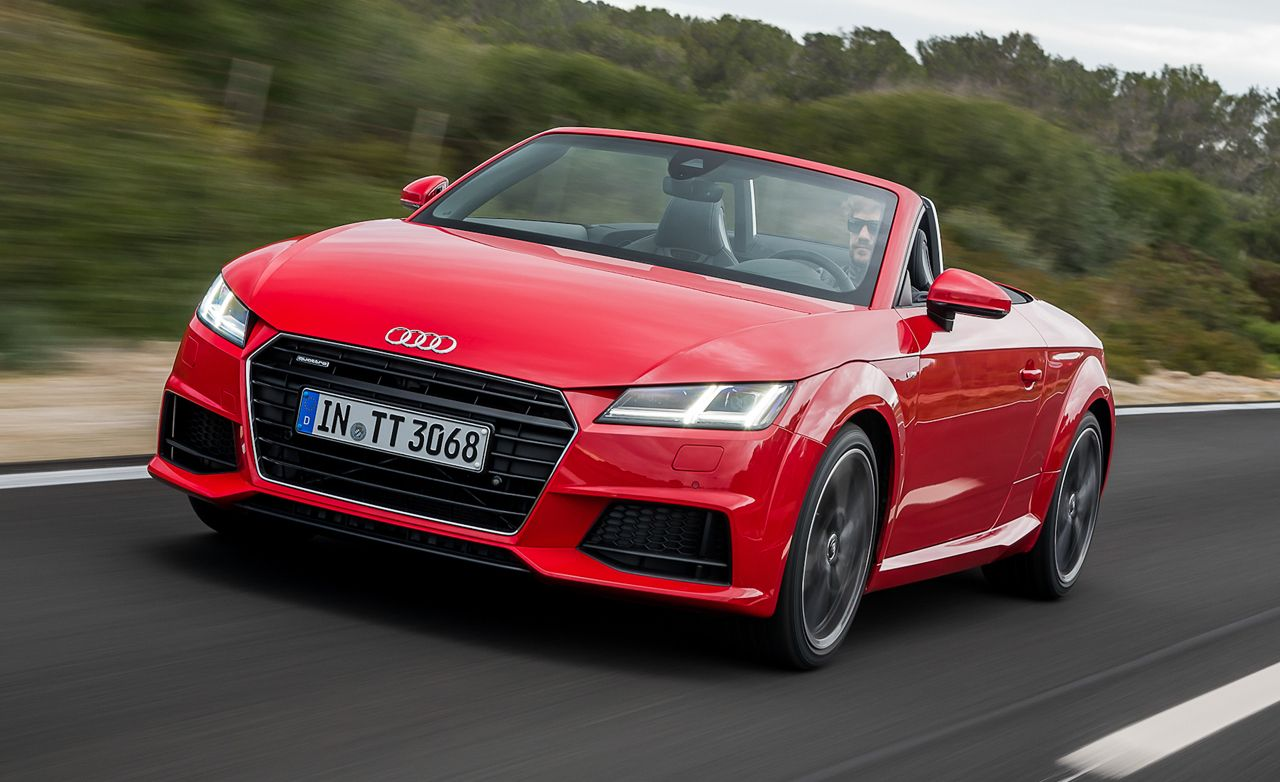 2016 audi tt roadster first drive – review – car and driver