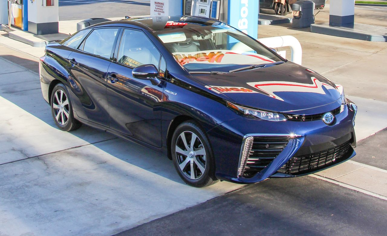 2020 Toyota Mirai Reviews Price Photos And Specs Car Driver