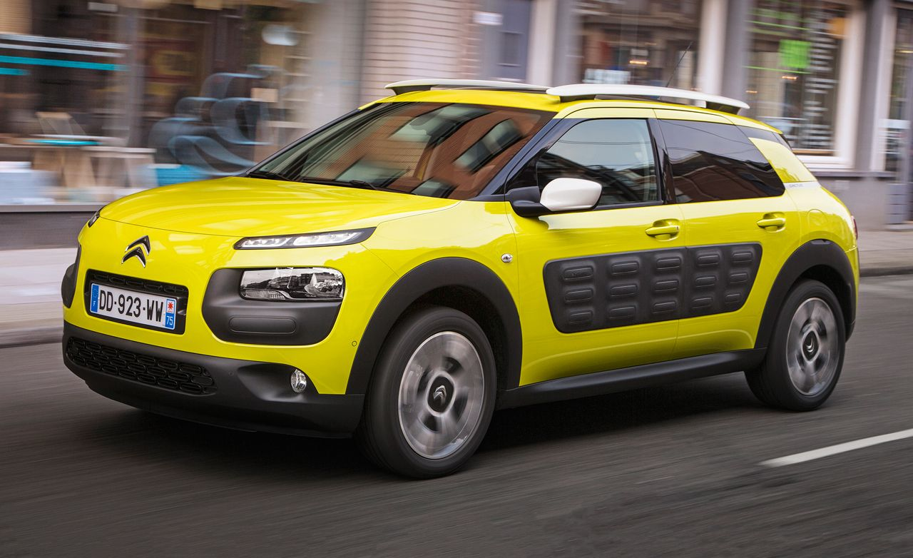 citroen c4 cactus first drive review car and driver. Black Bedroom Furniture Sets. Home Design Ideas