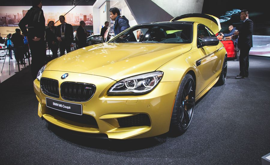 2015 BMW M6 Coupe and Convertible Debut: The Same, But Different