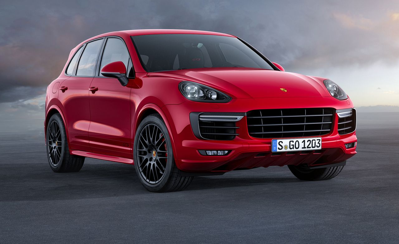 Porsche Expands Cayenne Range with 2015 V-6 and GTS Models
