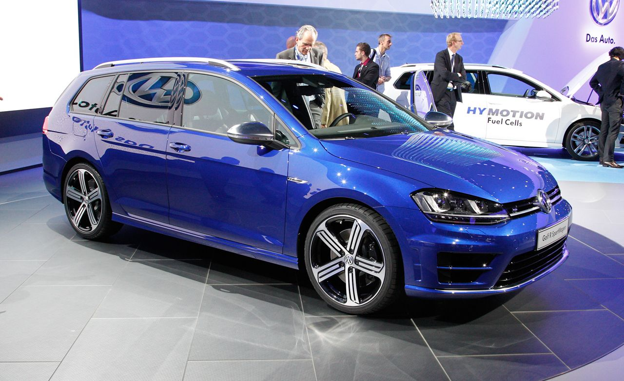 2015 Volkswagen Golf R SportWagen: A 296-hp, Long-Roofed Object of Lust