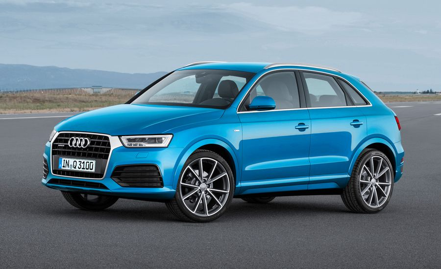 2016 Audi Q3 Debuts: Freshened to Take on Fresh Competition