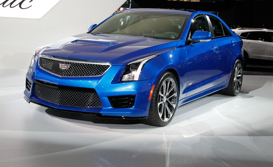 2016 cadillac ats v coupe and sedan photos and info news car and driver. Black Bedroom Furniture Sets. Home Design Ideas