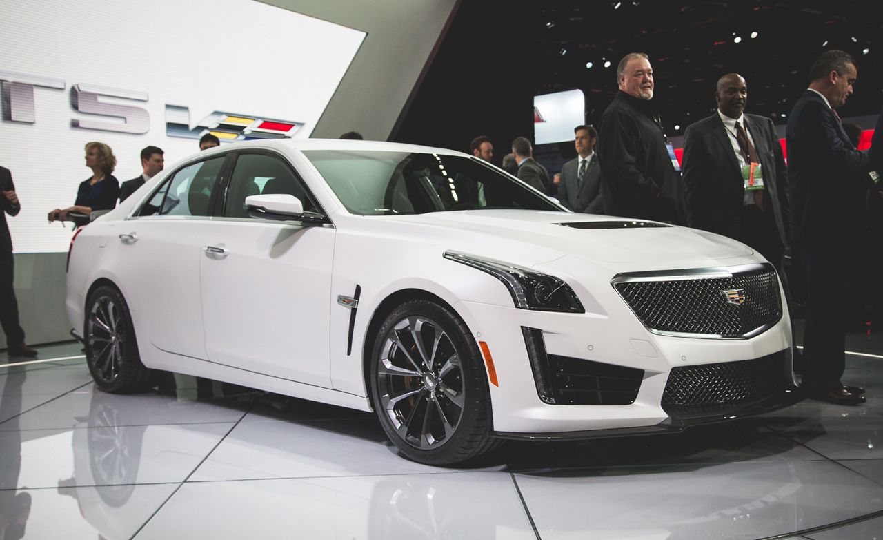 2016 cadillac cts v sedan photos and info news car and driver. Black Bedroom Furniture Sets. Home Design Ideas