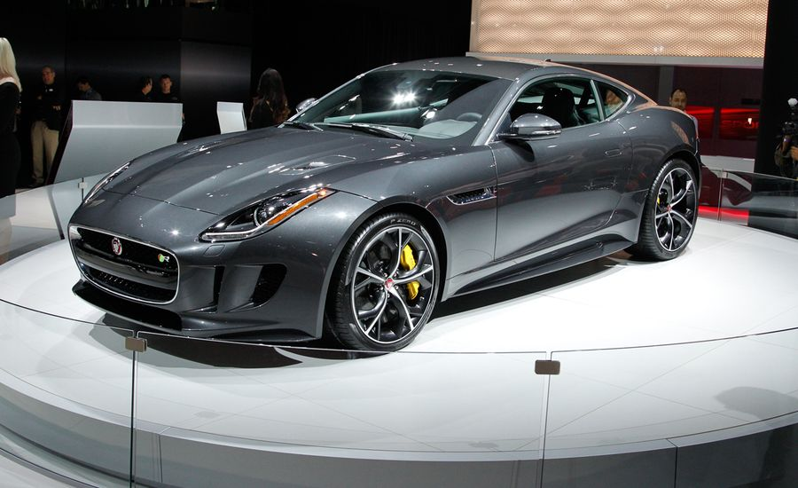 2016 Jaguar F-type Coupe and Convertible Gain Manual, AWD Options—and the R Goes Topless!