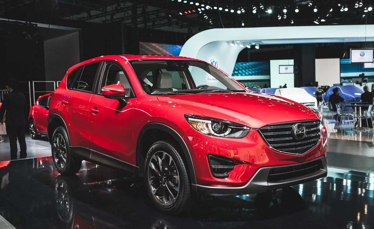 2016 Mazda CX 5: Dressing Up Its Inner Space