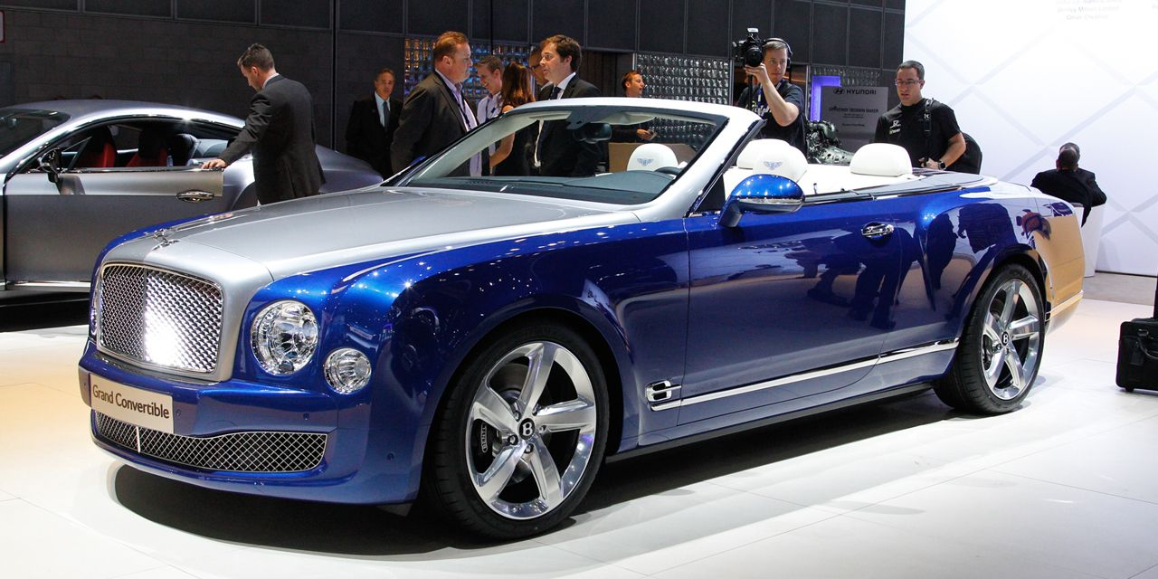 Grande Ballroom: Bentley Grand Convertible Concept Bows at L.A. Show