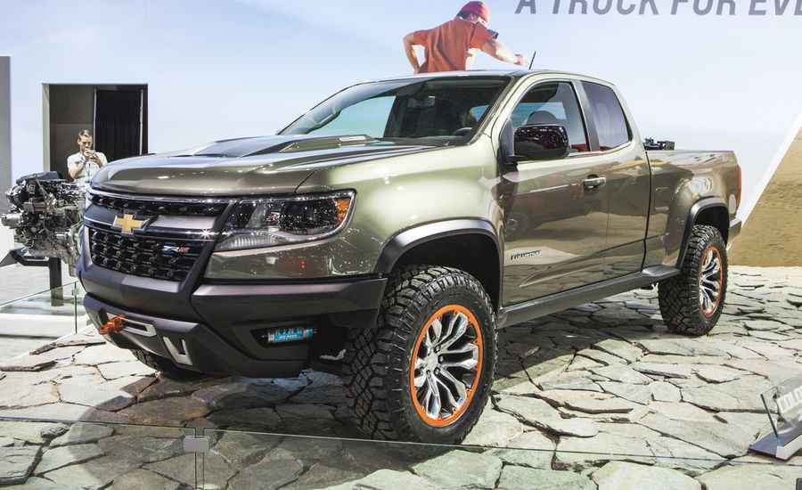 chevrolet colorado zr2 concept photos and info news. Black Bedroom Furniture Sets. Home Design Ideas