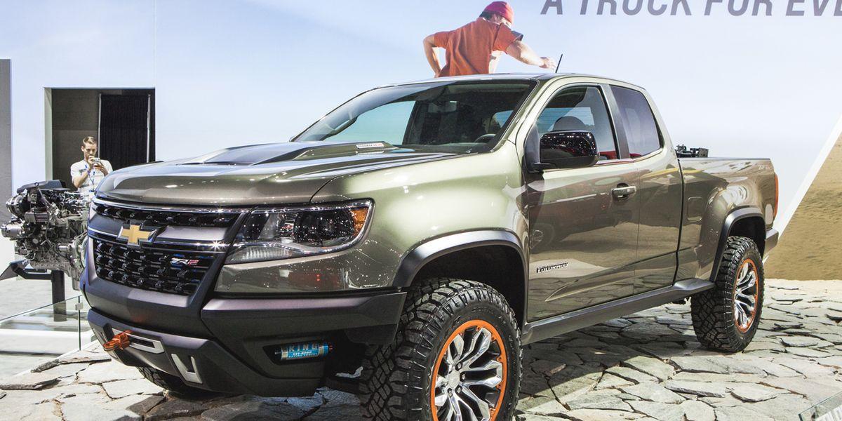 Chevrolet Colorado Zr2 Concept Photos And Info 8211 News 8211