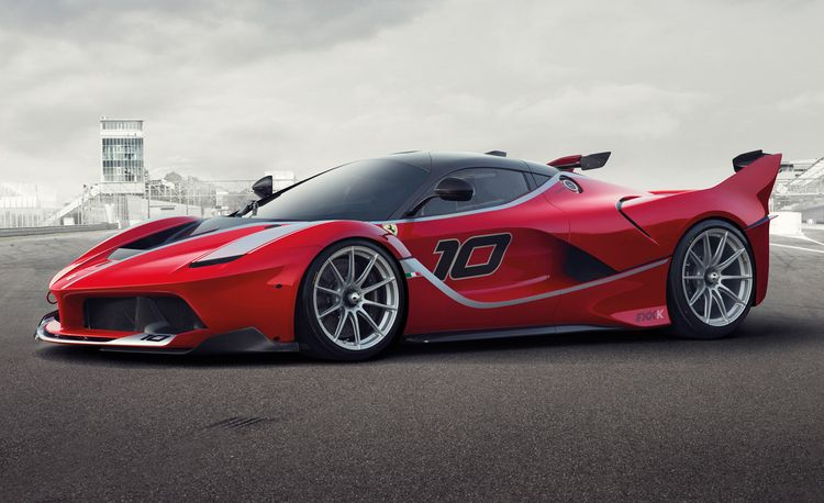 Ferrari FXX K: Just Your Everyday 1036-hp Aero-Intensive Track Weapon