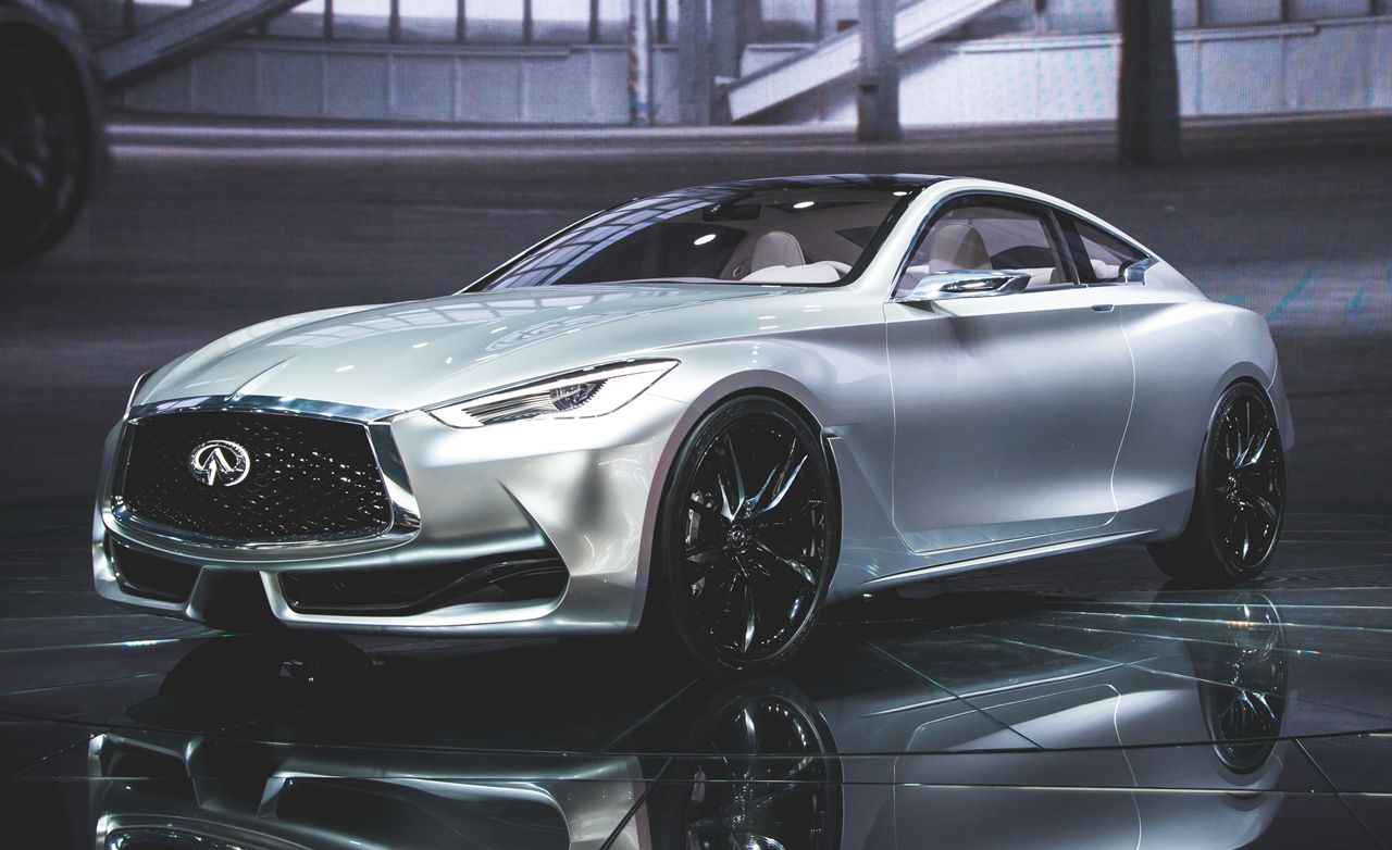 Infiniti Q60 Coupe Concept s and Info News