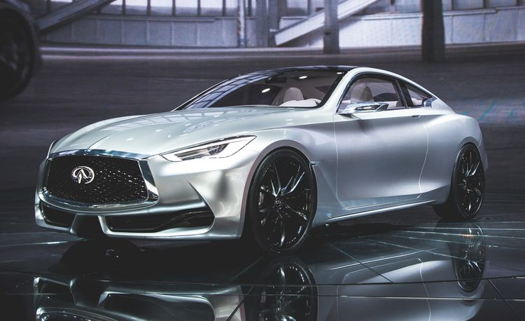 Infiniti Q60 Coupe Concept: Going for Baroque