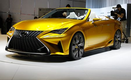 Lexus LF-C2 Concept Car: The Production RC Convertible By Another Name