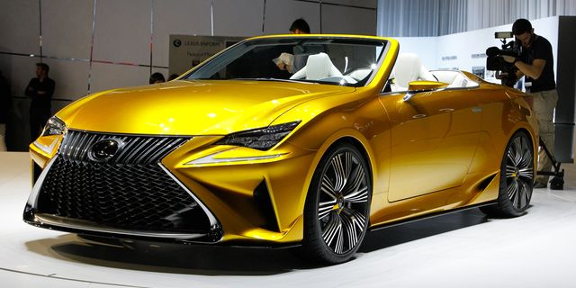 Lexus Lf C2 Concept A Preview Of The Rc Convertible 8211 News