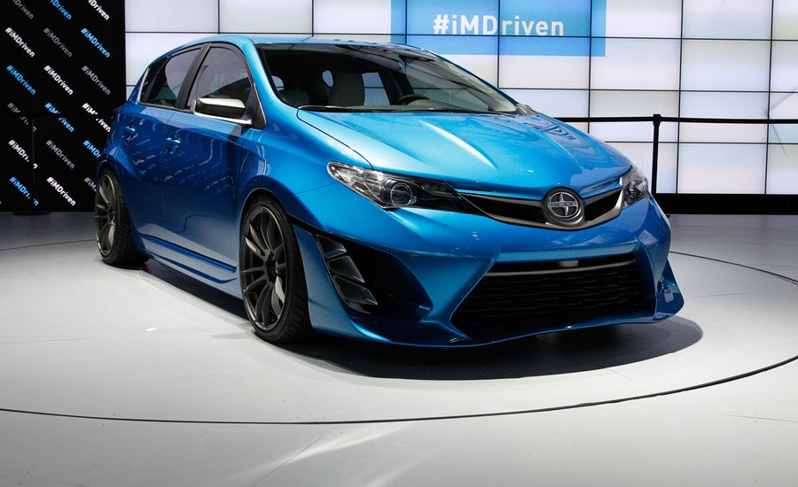 Scion Im Concept Revealed Headed For Production News Car And Driver