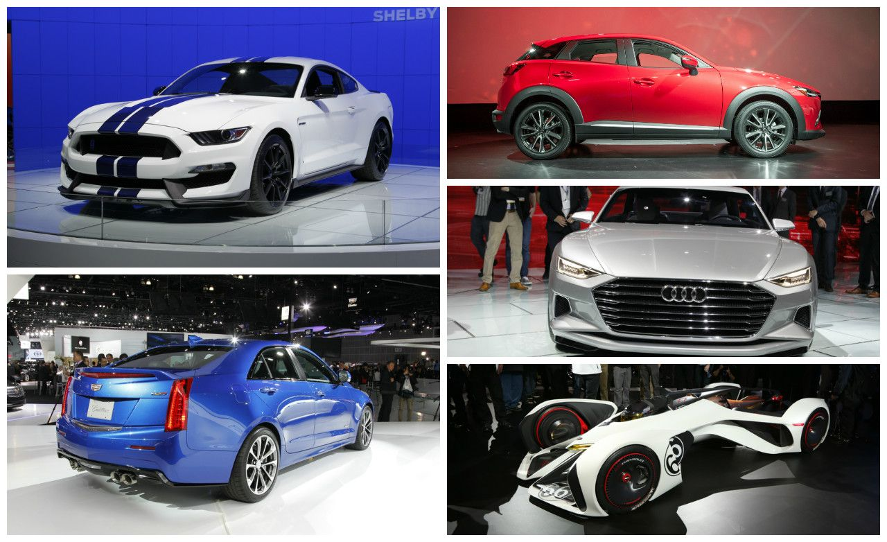 The Hottest New Cars At The 2014 L A Show In Three