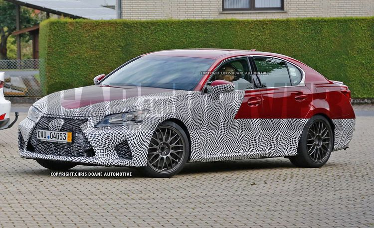2015 Lexus GS F Spy Photos: A Burlier GS This Way Comes