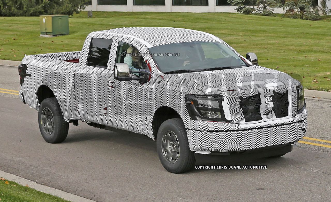 2016 Nissan Titan Spied—Can Half a Decade Be Considered Fashionably Late?
