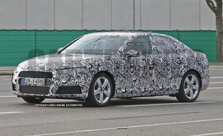 2017 Audi A4 Sedan Spy Photos: The High-Volume Sedan Will Launch Soon