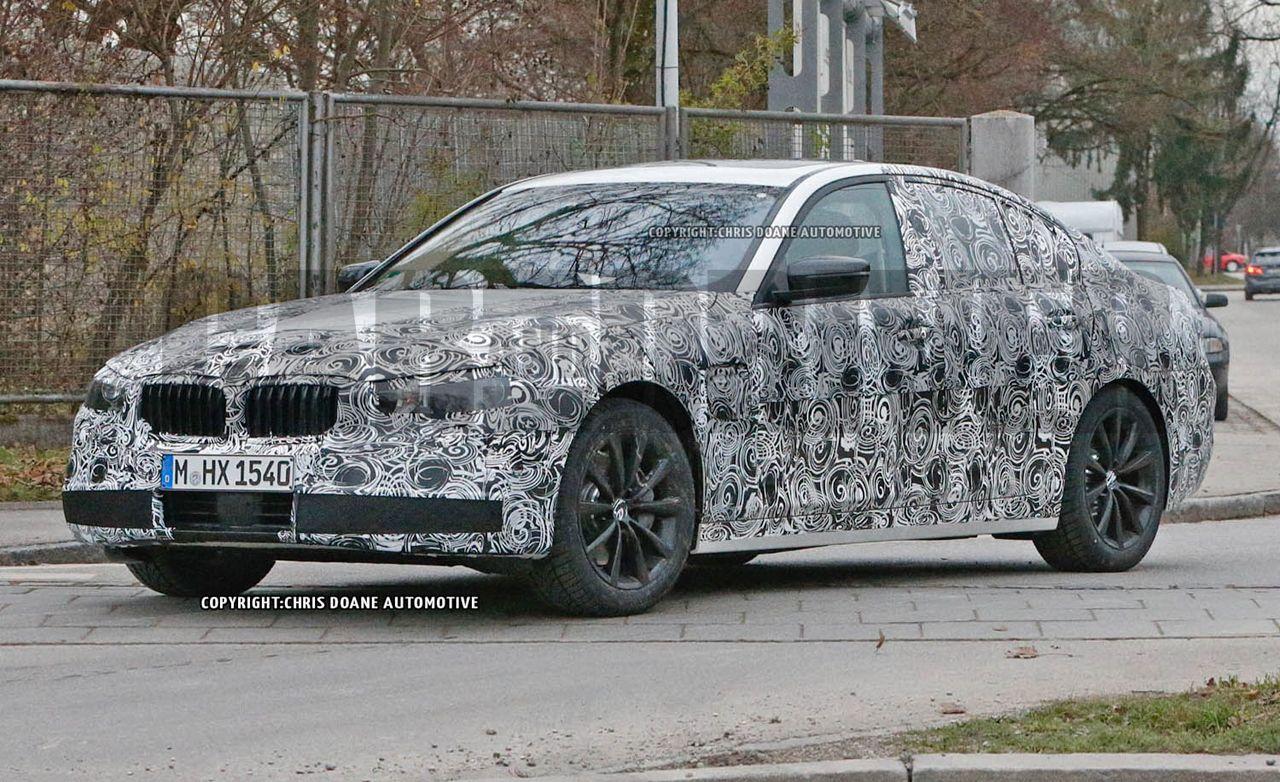 2017 BMW 5series Sedan Spy Photos  News  Car and Driver