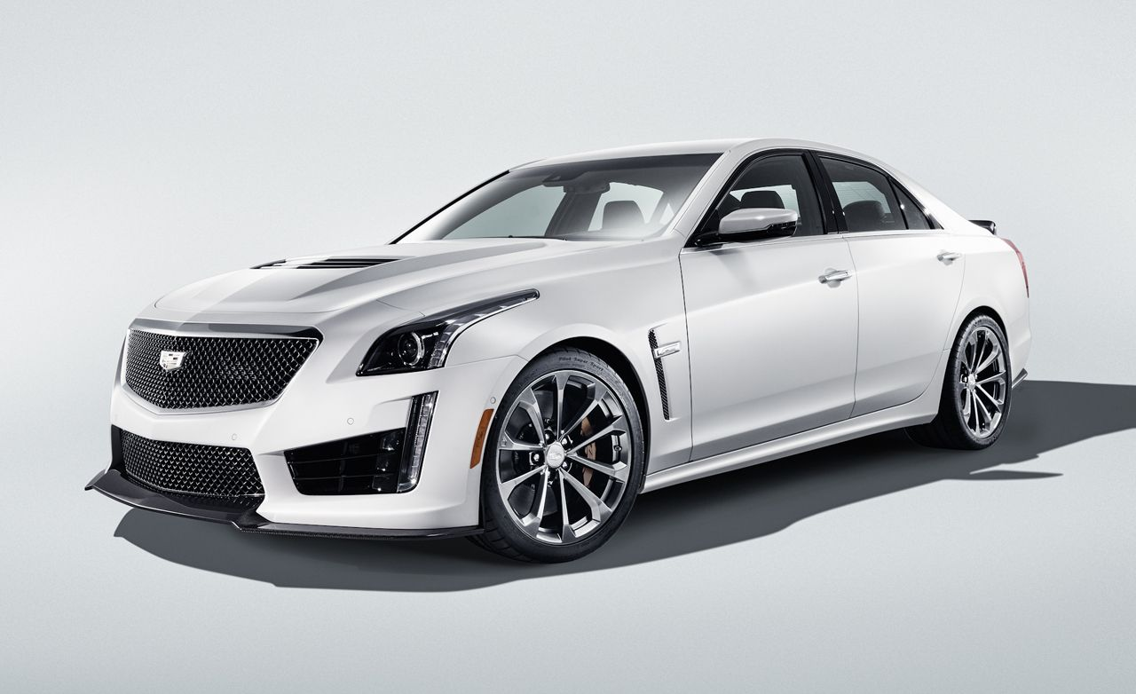 2016 Cadillac CTS-V: In-Depth with the Four-Door Corvette